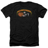 Frank Zappa Barking Pumpkin Adult Heather T-Shirt Black