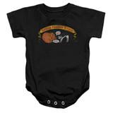 Frank Zappa Barking Pumpkin Baby Onesie T-Shirt Black