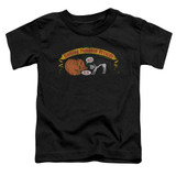Frank Zappa Barking Pumpkin Toddler T-Shirt Black