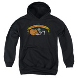 Frank Zappa Barking Pumpkin Youth Pullover Hoodie Sweatshirt Black