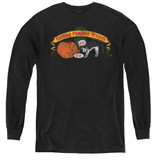 Frank Zappa Barking Pumpkin Youth Long Sleeve T-Shirt Black