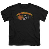 Frank Zappa Barking Pumpkin Youth T-Shirt Black
