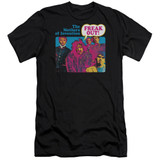 Frank Zappa Freak Out Adult 30/1 T-Shirt Black