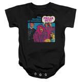 Frank Zappa Freak Out Baby Onesie T-Shirt Black