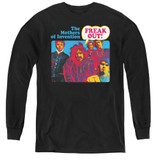 Frank Zappa Freak Out Youth Long Sleeve T-Shirt Black