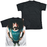 Frank Zappa Lumpy Gravy Adult Sublimated T-Shirt White/Black