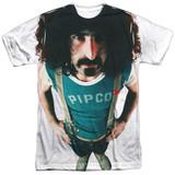 Frank Zappa Lumpy Gravy Adult Sublimated Crew T-Shirt White