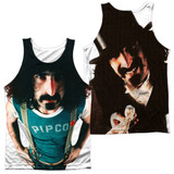 Frank Zappa Lumpy Gravy (Front/Back Print) Adult Sublimated Tank Top T-Shirt White