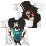 Frank Zappa Lumpy Gravy (Front/Back Print) Youth Sublimated T-Shirt White