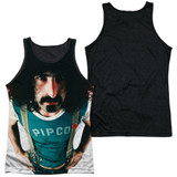 Frank Zappa Lumpy Gravy Adult Sublimated Tank Top T-Shirt White/Black