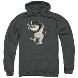 Where The Wild Things Are Carol Adult Pullover Hoodie Sweatshirt Charcoal