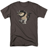 Where The Wild Things Are Carol S/S Adult 18/1 T-Shirt Charcoal