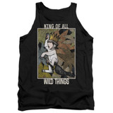 Where The Wild Things Are King Of All Wild Things Adult Tank Top Black