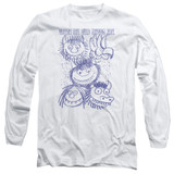 Where The Wild Things Are Wild Sketch Long Sleeve Adult 18/1 T-Shirt White