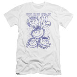 Where The Wild Things Are Wild Sketch Premium S/S Adult 30/1 T-Shirt White