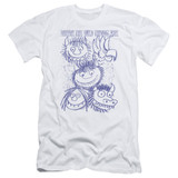 Where The Wild Things Are Wild Sketch S/S Adult 30/1 T-Shirt White