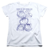 Where The Wild Things Are Wild Sketch S/S Women's T-Shirt White