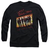 The Warriors One Gang Long Sleeve Adult 18/1 T-Shirt Black