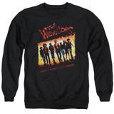 The Warriors One Gang Adult Crewneck T-Shirt Sweatshirt Black