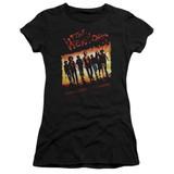 The Warriors One Gang S/S Junior Women's T-Shirt Sheer Black