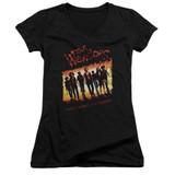 The Warriors One Gang Junior Women's T-Shirt V Neck T-Shirt Black