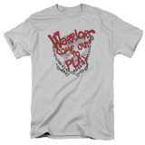 The Warriors Come Out And Play S/S Adult 18/1 T-Shirt Silver