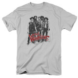 The Warriors Gang S/S Adult 18/1 T-Shirt Silver