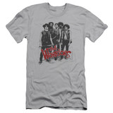 The Warriors Gang S/S Adult 30/1 T-Shirt Silver