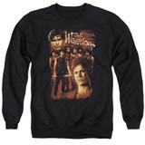 The Warriors 9 Warriors Adult Crewneck T-Shirt Sweatshirt Black