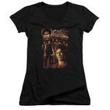 The Warriors 9 Warriors Junior Women's T-Shirt V Neck T-Shirt Black