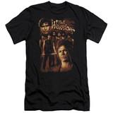 The Warriors 9 Warriors Premium Canvas Adult Slim Fit 30/1 T-Shirt Black