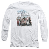 The Warriors Amusement Long Sleeve Adult 18/1 T-Shirt White