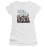 The Warriors Amusement S/S Junior Women's T-Shirt Sheer White