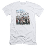 The Warriors Amusement S/S Adult 30/1 T-Shirt White
