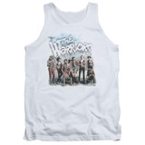 The Warriors Amusement Adult Tank Top White