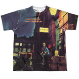 David Bowie Ziggy Star Dust Youth Sublimated Crew T-Shirt White