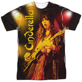 Cinderella Live Show Adult Sublimated Crew T-Shirt White