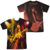 Cinderella Live Show (Front/Back Print) Adult Sublimated Crew T-Shirt White