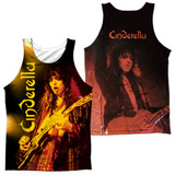 Cinderella Live Show (Front/Back Print) Adult Sublimated Tank Top T-Shirt White