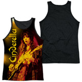 Cinderella Live Show Adult Sublimated Tank Top T-Shirt White/Black