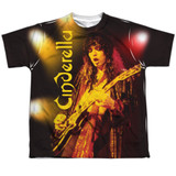 Cinderella Live Show Youth Sublimated Crew T-Shirt White