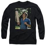 Dazed and Confused Obannion Long Sleeve Adult 18/1 T-Shirt Black