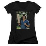 Dazed and Confused Obannion Junior Women's T-Shirt V-Neck Black