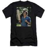Dazed and Confused Obannion Premium Canvas Adult Slim Fit 30/1 T-Shirt Black