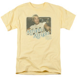 Dazed and Confused Alright Alright S/S Adult 18/1 T-Shirt Banana