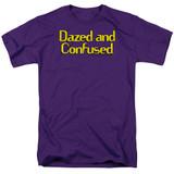 Dazed and Confused Dazed Logo S/S Adult 18/1 T-Shirt Purple