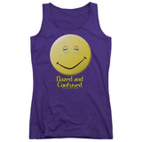 Dazed and Confused Dazed Smile Junior Women's Tank Top Purple