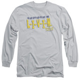 Dazed and Confused Livin Long Sleeve Adult 18/1 T-Shirt Silver