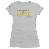 Dazed and Confused Livin S/S Junior Women's T-Shirt Sheer Silver