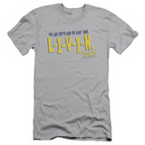 Dazed and Confused Livin S/S Adult 30/1 T-Shirt Silver